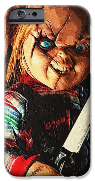 Fictional iPhone Cases - Chucky iPhone Case by Taylan Soyturk