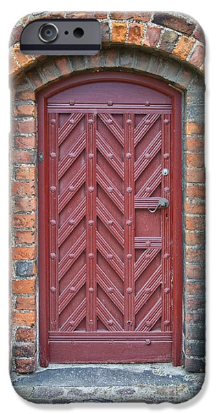 Church Door 02 iPhone Case by Antony McAulay