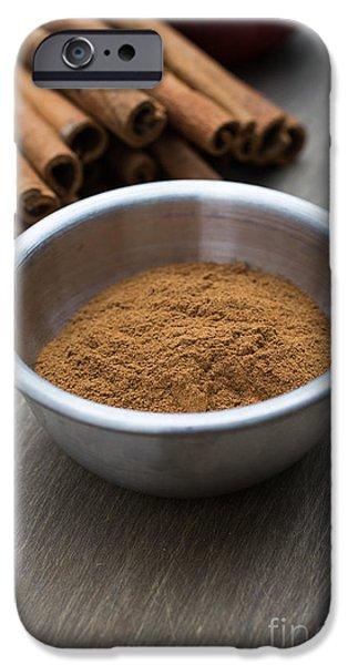 Cinnamon Spice iPhone Case by Edward Fielding