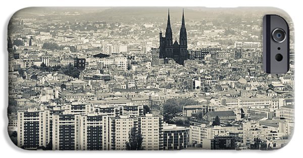 Notre Dame Cathedral iPhone Cases - Cityscape With Cathedrale iPhone Case by Panoramic Images