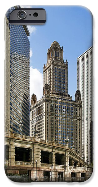 Classic Chicago -  The Jewelers Building iPhone Case by Christine Till