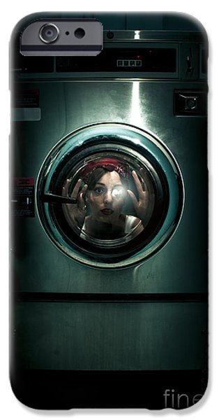 Hair-washing iPhone Cases - Cleaning Problems iPhone Case by Ryan Jorgensen