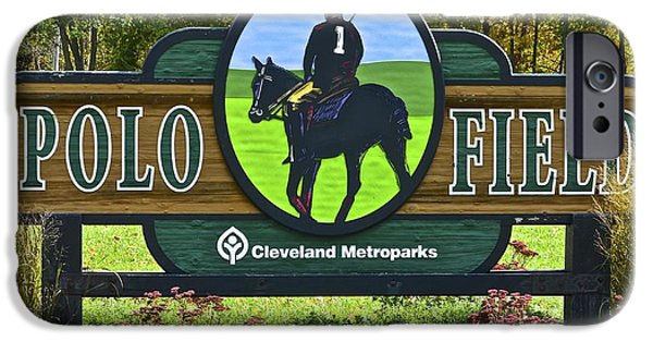 Horse Bit iPhone Cases - Cleveland Metroparks iPhone Case by Frozen in Time Fine Art Photography