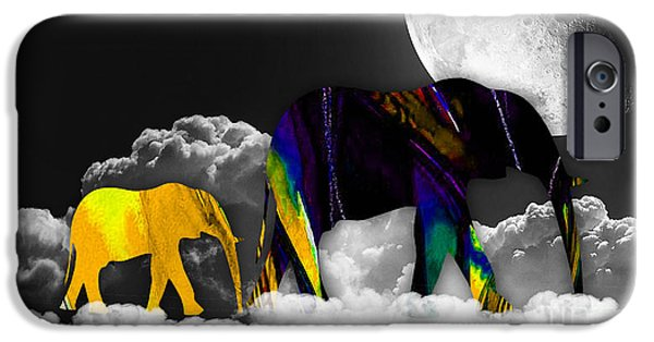 Clouds iPhone Cases - Cloud 9 iPhone Case by Marvin Blaine