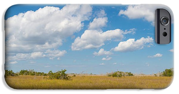 Everglades iPhone Cases - Clouds Over Everglades National Park iPhone Case by Panoramic Images