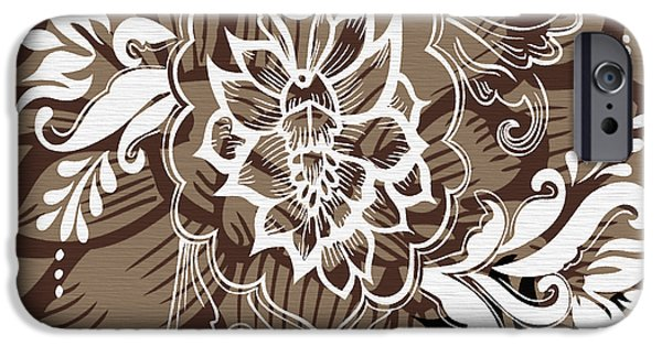 Coffee Flowers 10 iPhone Case by Angelina Vick