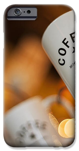Coffee iPhone Case by Scott Norris