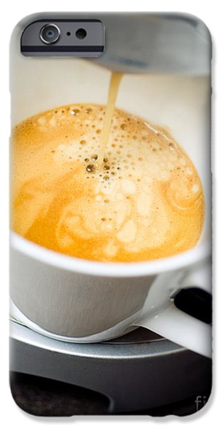 Morning iPhone Cases - Coffee iPhone Case by Viktor Pravdica