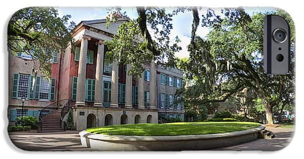 College iPhone Cases - College of Charleston Randolph Hall  iPhone Case by Dustin K Ryan