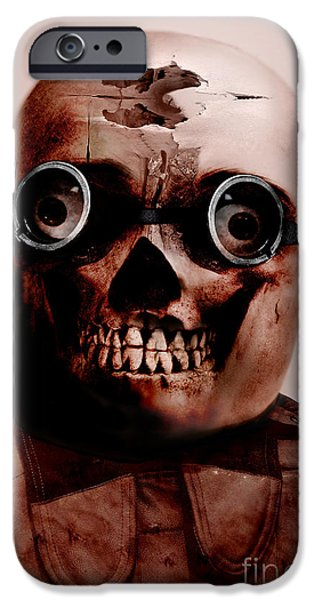 Ghastly iPhone Cases - Colonel Chaos iPhone Case by Ryan Jorgensen