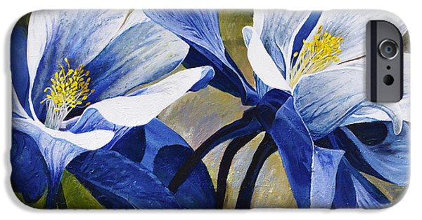 Intense iPhone Cases - Colorado Columbines iPhone Case by Aaron Spong
