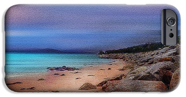 Photographs Tapestries - Textiles iPhone Cases - Colorful Beach iPhone Case by Mihai Medves
