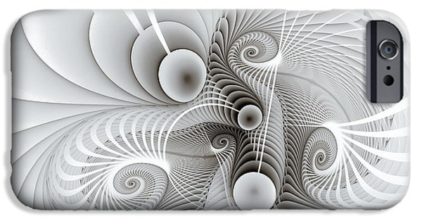 Bonding iPhone Cases - Connections iPhone Case by Jutta Maria Pusl