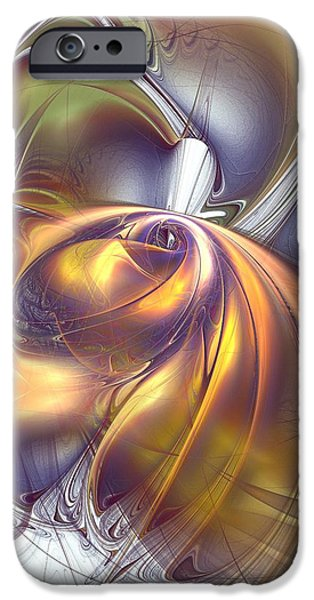 Penetration iPhone Cases - First Contact iPhone Case by Anastasiya Malakhova