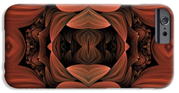 Asymmetrical iPhone Cases - Contemporary Concepts iPhone Case by Georgiana Romanovna