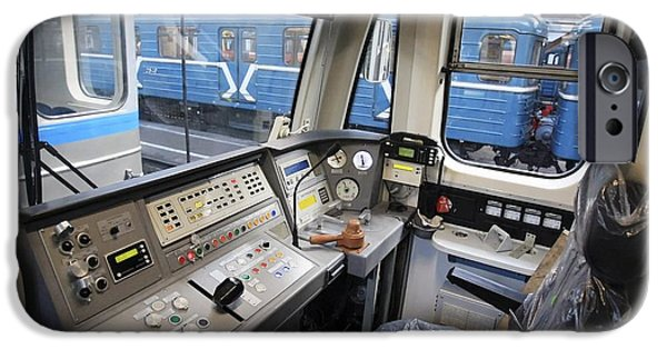 Upgrade iPhone Cases - Controls Of A Metro Train In Russia iPhone Case by RIA Novosti