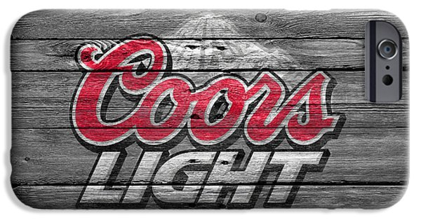 Bottled iPhone Cases - Coors Light iPhone Case by Joe Hamilton