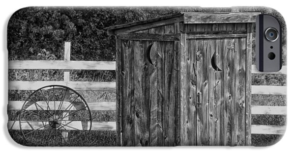 Recently Sold -  - Rural iPhone Cases - Country Outhouse iPhone Case by Mountain Dreams