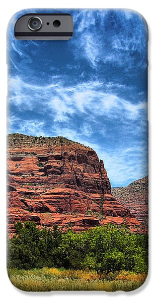Courthouse Butte Sedona Arizona iPhone Case by Amy Cicconi