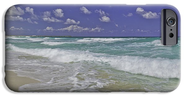 Beach iPhone Cases - Cozumel Paradise iPhone Case by Chad Dutson