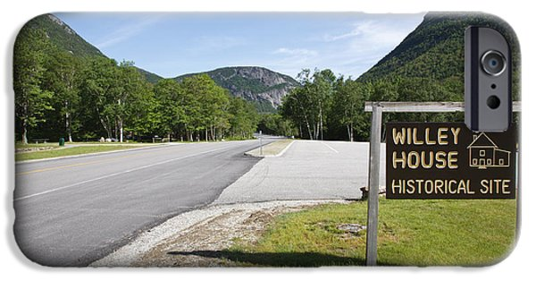 Historic Site iPhone Cases - Crawford Notch State Park - White Mountains New Hampshire USA iPhone Case by Erin Paul Donovan
