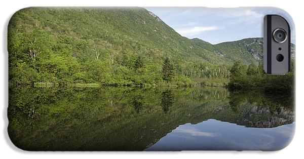 Historic Site iPhone Cases - Crawford Notch State Park - White Mountains NH USA iPhone Case by Erin Paul Donovan