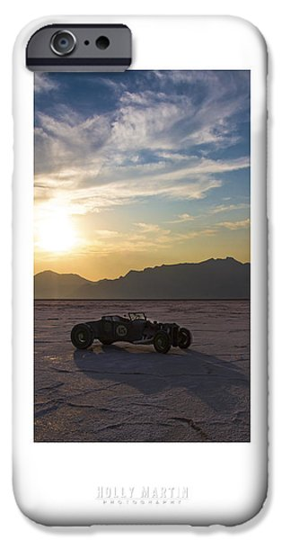 Dry Lake iPhone Cases - Custom Salt iPhone Case by Holly Martin