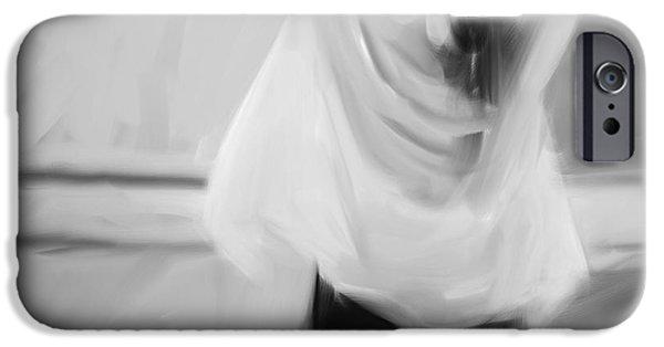 Ballet Dancers iPhone Cases - Dancer iPhone Case by H James Hoff