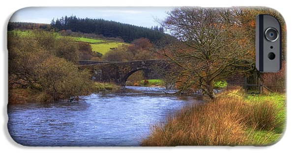 Meadow iPhone Cases - Dartmoor - Two Bridges iPhone Case by Joana Kruse