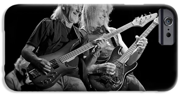 Bands On Stage iPhone Cases - Deep Purple in Concert iPhone Case by Mountain Dreams