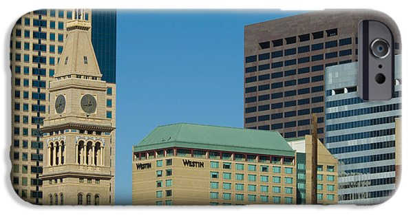 Business iPhone Cases - Denver City Scenes iPhone Case by Lee Roth