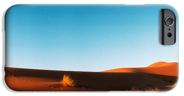 SAHARA iPhone Cases - Desert At Sunrise, Sahara Desert iPhone Case by Panoramic Images