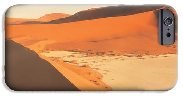 Sand Dunes iPhone Cases - Desert Namibia iPhone Case by Panoramic Images