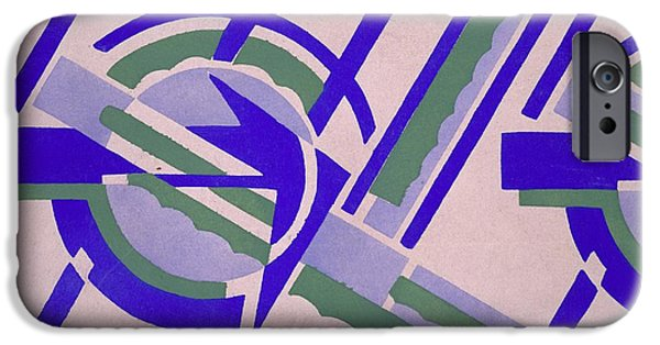 Pink Tapestries - Textiles iPhone Cases - Design from Nouvelles compositions decoratives iPhone Case by Serge Gladky