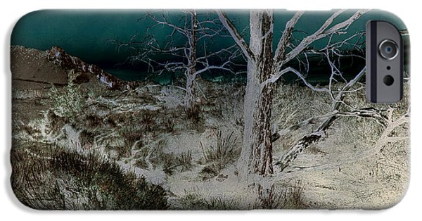 Surreal Landscape iPhone Cases - Desolation iPhone Case by Bonnie Bruno