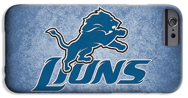 Animals Photographs iPhone Cases - Detroit Lions iPhone Case by Joe Hamilton