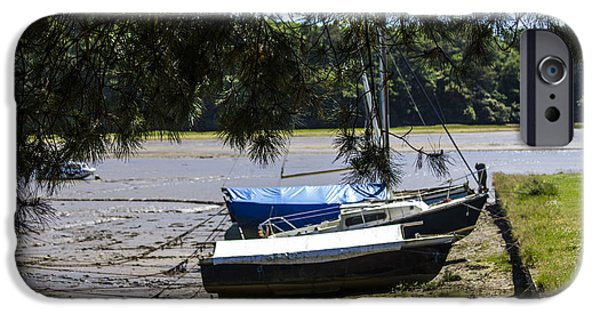 Tidal Photographs iPhone Cases - Deveron River iPhone Case by Brian Roscorla