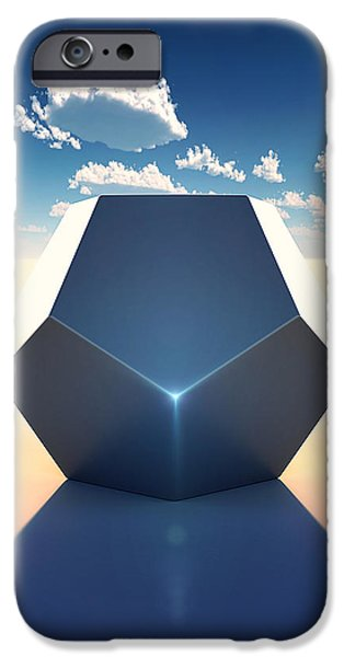 Dodecahedron iPhone Case by Marc Orphanos