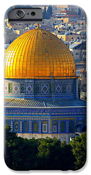 Dome of the Rock iPhone Case by Stephen Stookey