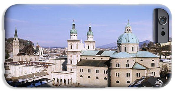 Salzburg iPhone Cases - Dome Salzburg Austria iPhone Case by Panoramic Images