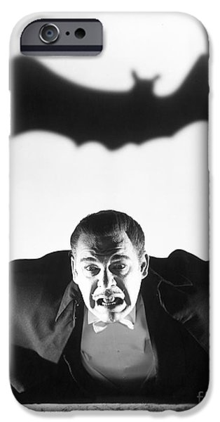 Movie Scene iPhone Cases - Dracula iPhone Case by MMG Archive Prints