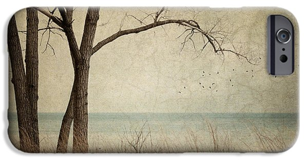 Solitude Photographs iPhone Cases - Drifting iPhone Case by Amy Weiss