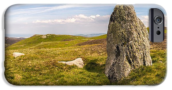 Historic Site iPhone Cases - Druids Stone Circle iPhone Case by Amanda And Christopher Elwell