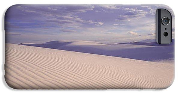 Sand Dunes iPhone Cases - Dunes, White Sands, New Mexico, Usa iPhone Case by Panoramic Images