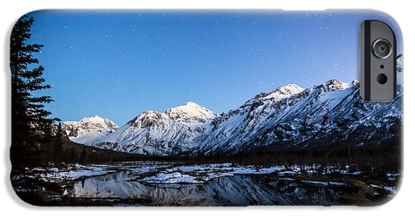 Nature Center Pond iPhone Cases - Eagle River Nature Center iPhone Case by Kyle Lavey