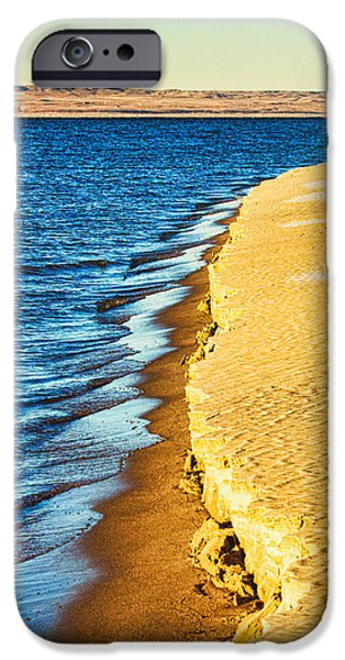 Nebraska iPhone Cases - Early Morning Walk iPhone Case by Bill Kesler