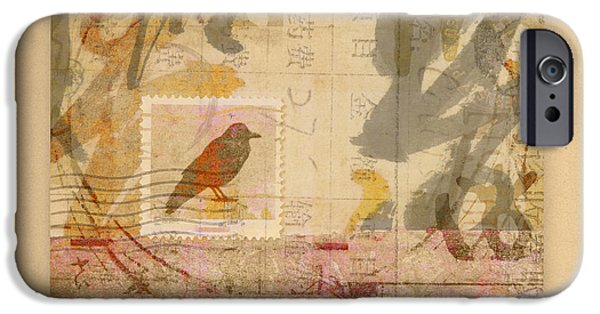 Corvid iPhone Cases - Eastward iPhone Case by Carol Leigh