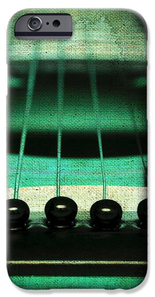 Edgy Abstract Eclectic Guitar 15 iPhone Case by Andee Design
