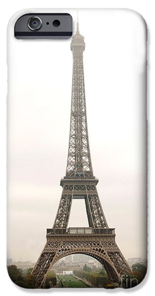 Building iPhone Cases - Eiffel tower iPhone Case by Elena Elisseeva