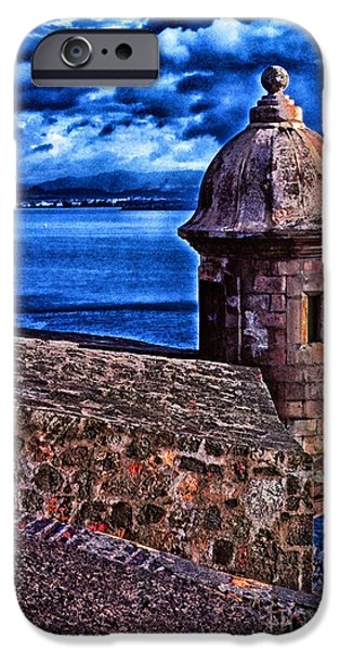 El Morro Fortress iPhone Case by Thomas R Fletcher
